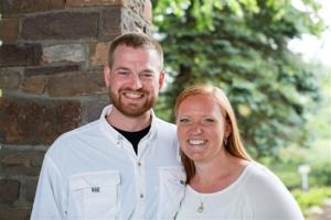 Dr. Kent Brantly and his wife, Amber, are seen in an undated photo provided by Samaritan's Purse.