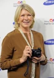 Martha Stewart attends the 13th Annual Samsung Hope For Children Gala at Cipriani Wall Street on Tuesday, June 10, 2014 in New York.