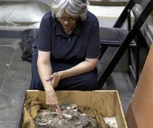 Anthropologist Janet Monge discusses the find at the Penn Museum.