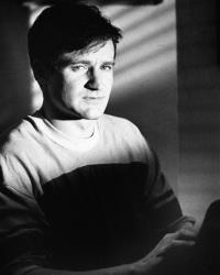 This 1982 file photo originally released by Warner Bros. Pictures shows Robin Williams as T.S. Garp from the film The World According to Garp.