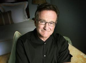 This June 15, 2007 file photo shows actor and comedian Robin Williams posing for a photo in Santa Monica, Calif.