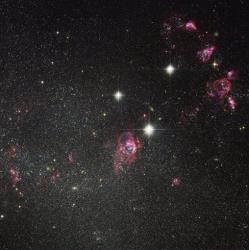The Hubble Space Telescope captured this image of deep space in 2011.