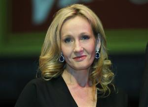 In this 2012 file photo, JK Rowling, in the days before Harry Potter jumped the shark.