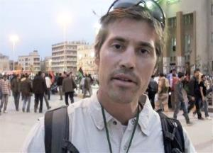 James Foley of Rochester, NH, a freelance contributor for GlobalPost, in Benghazi, Libya.