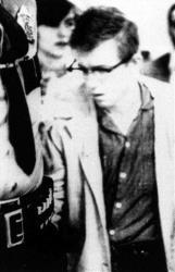 Robert Hansen leaves court in Anchorage, Alaska, 1984.