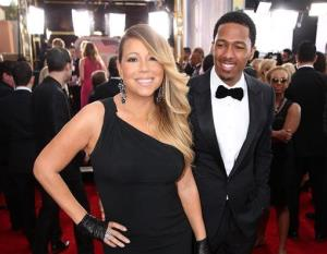 This Jan. 18, 2014, file photo shows Mariah Carey and Nick Cannon at the 20th annual Screen Actors Guild Awards in Los Angeles.