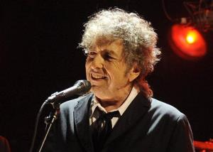 In this Jan. 12, 2012 file photo, Bob Dylan performs in Los Angeles.