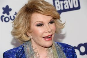 Joan Rivers in a file photo from May 2014.