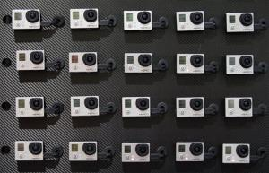 This Jan. 8, 2013 file photo shows a display of video cameras at the International Consumer Electronics Show in Las Vegas.