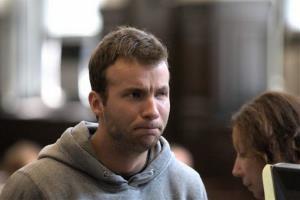 Yaroslav Kolchin is arraigned in Brooklyn Criminal Court, Monday, Aug. 25, 2014, in Brooklyn, NY.