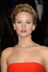 Jennifer Lawrence arrives at the Oscars at the Dolby Theatre in Los Angeles earlier this year.
