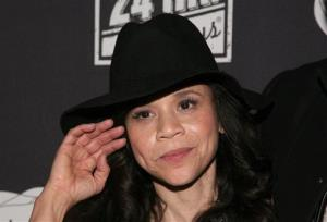 Actress Rosie Perez attends the 24 Hour Plays: On Broadway afterparty on Nov. 18, 2013, in New York.