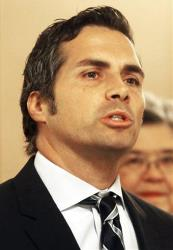 Greg Orman, the independent candidate.