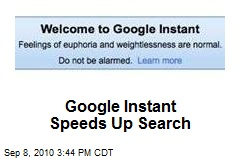 Google Instant Speeds Up Search