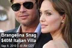 Brangelina Scoop Up $40M Italian Villa