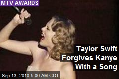 Taylor Swift Forgives Kanye With a Song