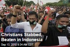 Christians Stabbed, Beaten in Indonesia