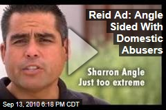 Reid Ad: Angle Sided With Domestic Abusers