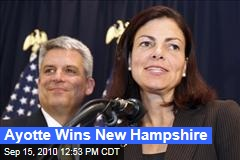 Ayotte Wins New Hampshire