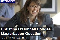 Christine O'Donnell Dodges Masturbation Question