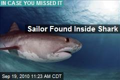 Sailor Found Inside Shark