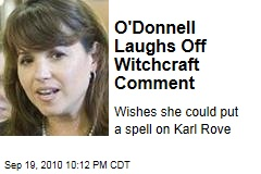 O'Donnell Laughs Off Witchcraft Comment