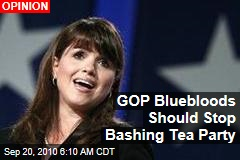GOP Bluebloods Should Stop Bashing Tea Party
