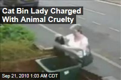 Cat Bin Lady Charged With Animal Cruelty