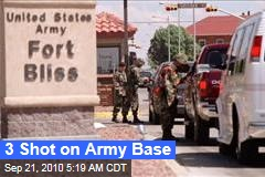 3 Shot on Army Base