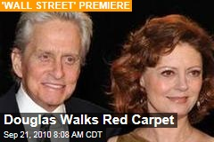 Douglas Walks Red Carpet