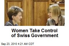 Women Take Control of Swiss Government