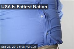 USA Is Fattest Nation
