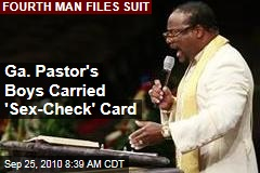 Ga. Pastor's Boys Carried 'Sex-Check' Card