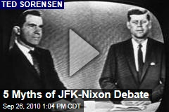 5 Myths of JFK-Nixon Debate
