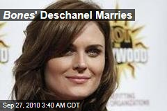 'Bones' Marries