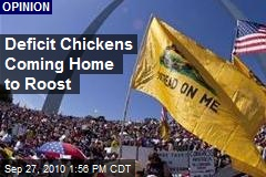 Deficit Chickens Coming Home to Roost