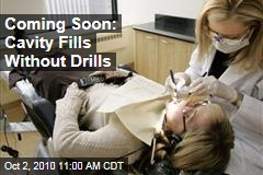 Coming Soon: Cavity Fills Without Drills