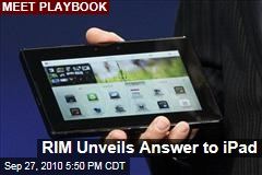 RIM Unveils Answer to iPad
