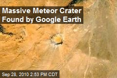 Massive Meteor Crater Found by Google Earth