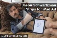 Jason Schwartzman Strips Naked for 'New Yorker' Magazine iPad Application (Video)