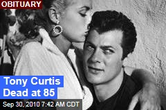 Tony Curtis Dead at 85