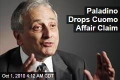 Paladino Backs Off Cuomo Affair Story