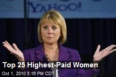 Top 25 Highest-Paid Women