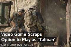 Taliban Will Not Be Playable in 'Medal of Honor'