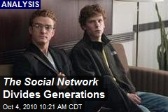 The Social Network Divides Generations