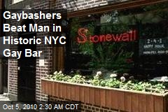 NY Gaybashers Beat Customer in Historic Stonewall