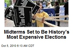 Midterm Elections Set To Be History's Most Expensive