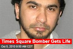 Times Square Bomber Gets Life