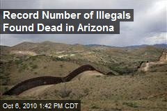Record Number of Illegals Found Dead in Arizona