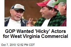 GOP Wanted 'Hicky' Actors for West Virginia Commercial